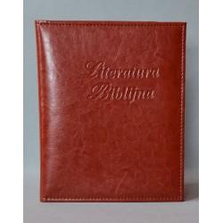 LITERATURA BIBLIJNA brąz miodowy