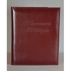 LITERATURA BIBLIJNA ciemne bordo