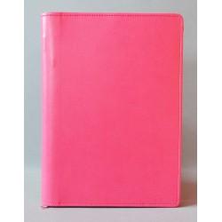 LITERATURA BIBLIJNA z zamkiem bez napisu różowa