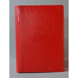 LITERATURA BIBLIJNA z zamkiem bez napisu czerwona