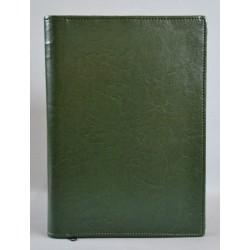 LITERATURA BIBLIJNA z zamkiem bez napisu ciemna zieleń 2 R