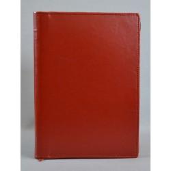LITERATURA BIBLIJNA z zamkiem miodowy brąz R