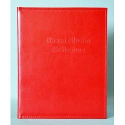 NASZA SŁUŻBA czerwona z kieszenią i folią z+k