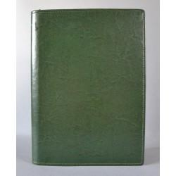 LITERATURA BIBLIJNA z zamkiem i folią bez napisu ciemna zieleń