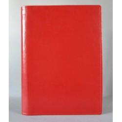 LITERATURA BIBLIJNA z zamkiem i folią bez napisu czerwona
