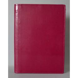 LITERATURA BIBLIJNA z zamkiem i folią bez napisu bordo