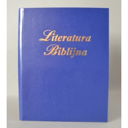 LITERATURA BIBLIJNA introkal z folią granatowa