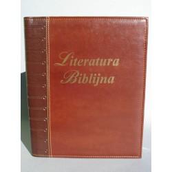 LITERATURA BIBLIJNA z folią zapałki brązowa R