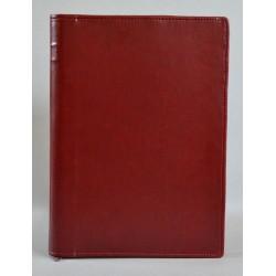 LITERATURA BIBLIJNA z zamkiem bez napisu ciemne bordo 2