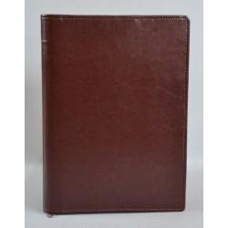 LITERATURA BIBLIJNA z zamkiem bez napisu ciemny brąz