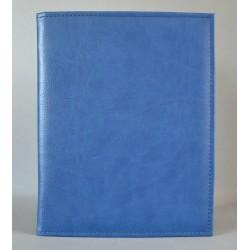 DUŻA OKŁADKA niebieski z fakturą
