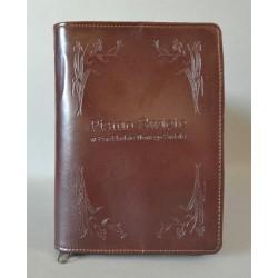 ŚREDNIA BIBLIA twarda oprawa nieusztywniana gorzka czekolada R
