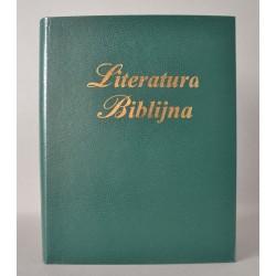 LITERATURA BIBLIJNA introkal z folią ciema zieleń
