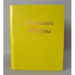 LITERATURA BIBLIJNA introkal z folią limonka